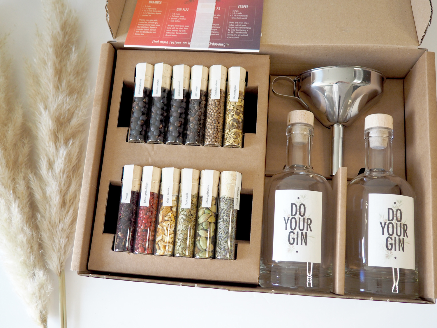 How to make flavoured gin